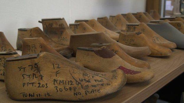 Old shoe models