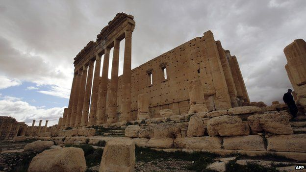 Temple of Bel at Palmyra, Syria (file)