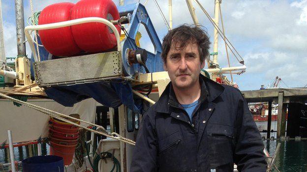 Mounts Bay fisherman Jeremy Rowe