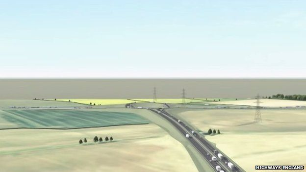 Artist's impression of the A160 upgrade