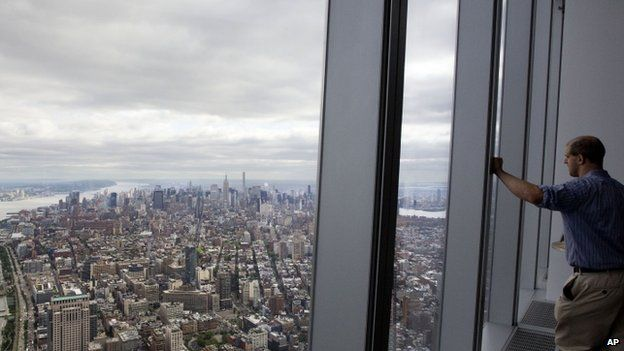 The View From New Yorks One World Trade Center Bbc News