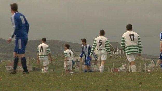 Eriskay football pitch