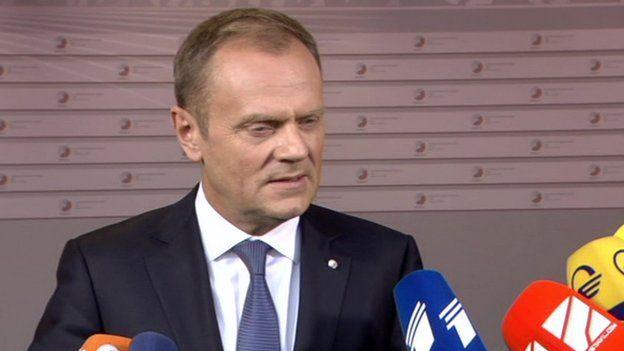 European Council President Donald Tusk, 21 May 15