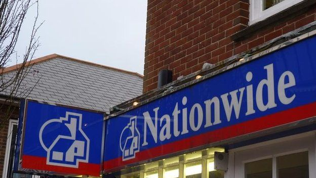 Front of a Nationwide branch