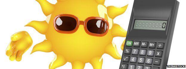 sun + calculator