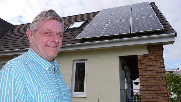 Steve Kessell + solar panels