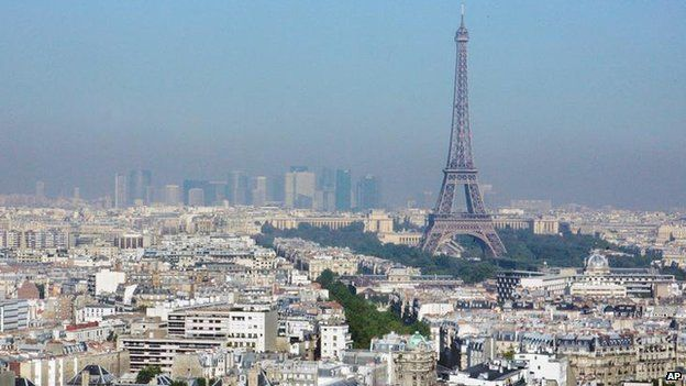 The Eiffel Tower (file picture)