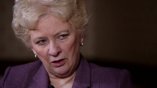 Baroness Nuala O'Loan, former NI police ombudsman
