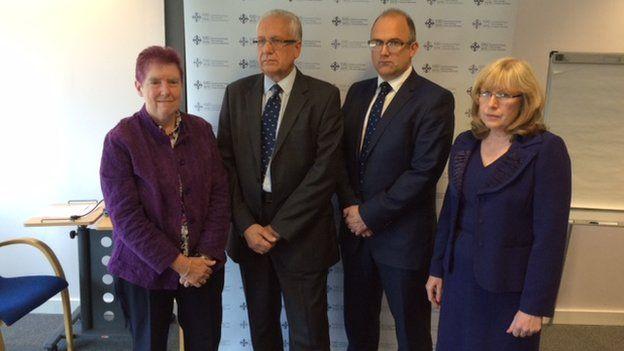 Betsi Cadwaladr University Health Board panel
