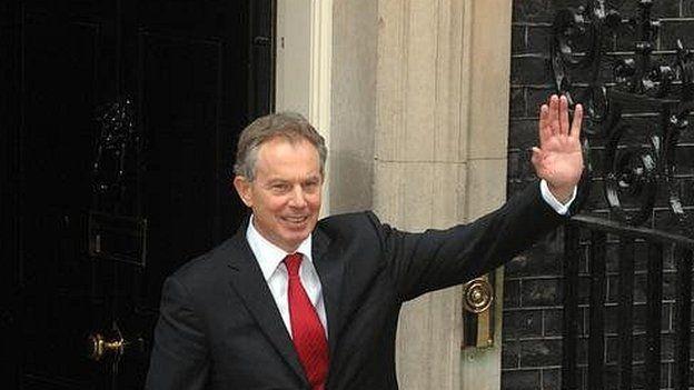 Tony Blair in 2007