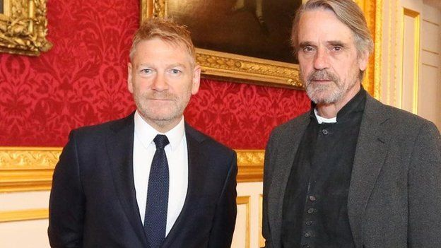 Sir Kenneth Branagh and Jeremy Irons