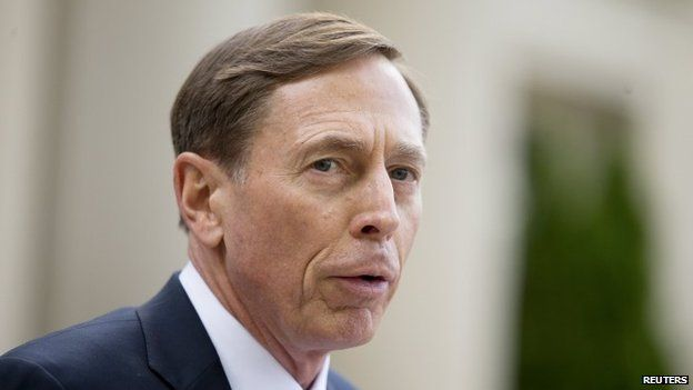 Former CIA director David Petraeus, 23 April 2015 picture