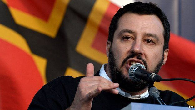 Northern League leader Matteo Salvini