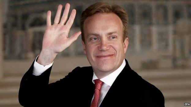 Norway's Foreign Minister Borge Brende - file pic