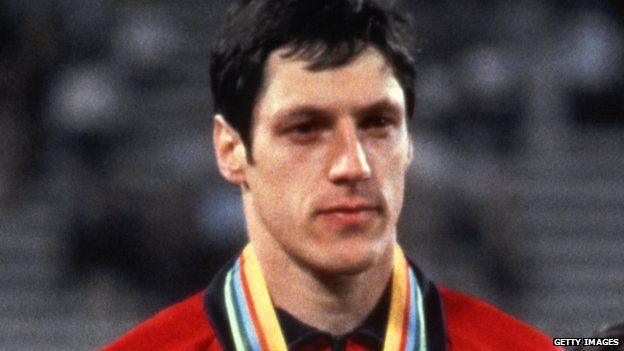 Allan Wells is one of only three British athletes to win the 100m at the Olympic Games