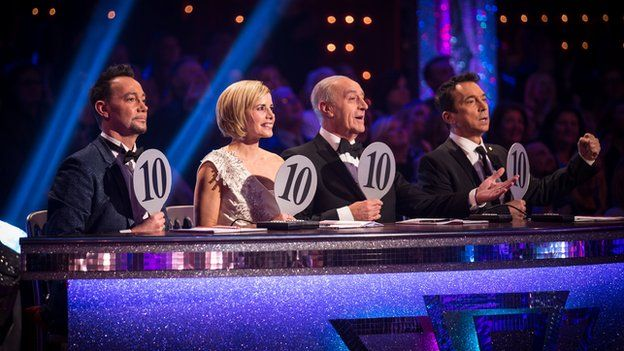 Strictly Come Dancing judges (L-R) Craig Revel Horwood, Darcey Bussell, Len Goodman and Bruno Tonioli