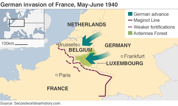 Map Of Germany France.The Ww2 Soldiers France Has Forgotten Bbc News