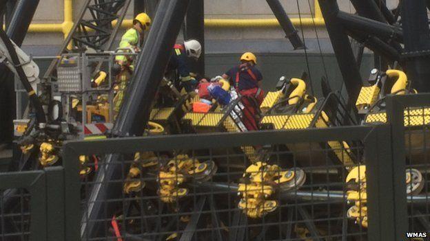 Rescue under way