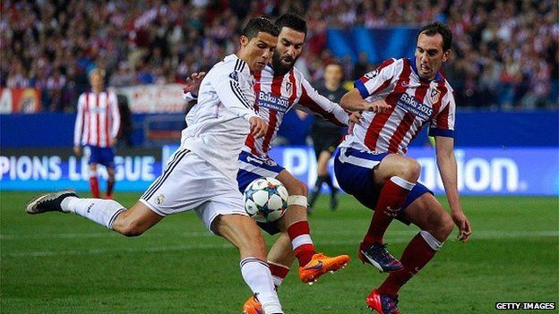 Real Madrid v Atletico Madrid
