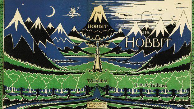 The Hobbit book jacket