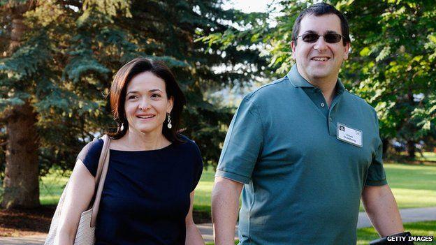 Sheryl Sandberg and David Goldberg in 2014