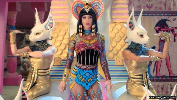 Katy Perry's Dark Horse video