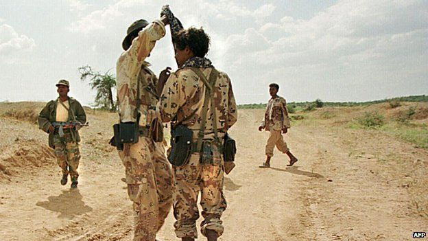 Eritrean soldiers from 2009