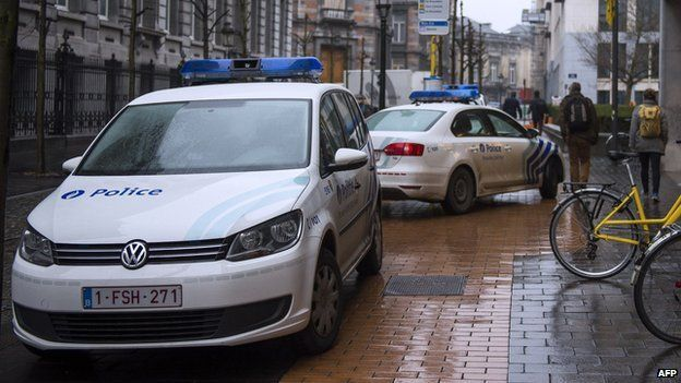 Belgian police cars - file pic