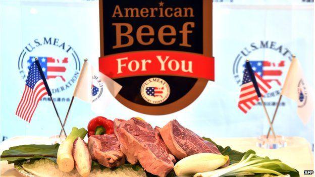 American beef presentation - file pic