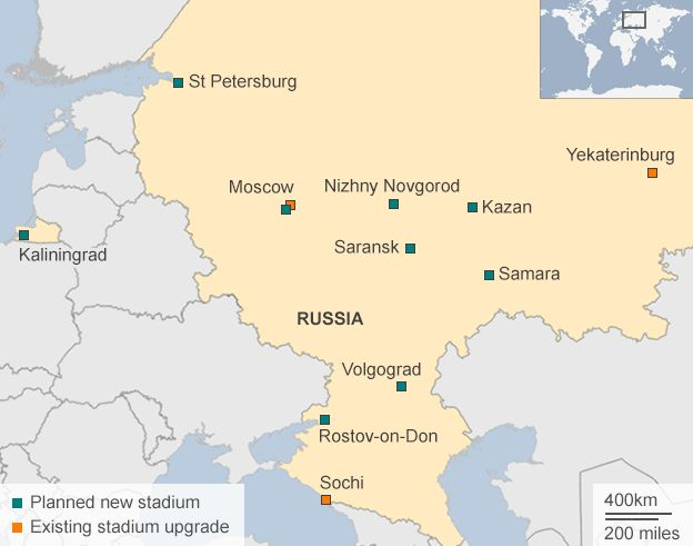 Could Fifa really take the World Cup from Russia or Qatar  BBC News