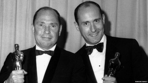 Mercer and Mancini winning the Oscar