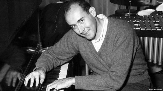 Henry Mancini at the piano