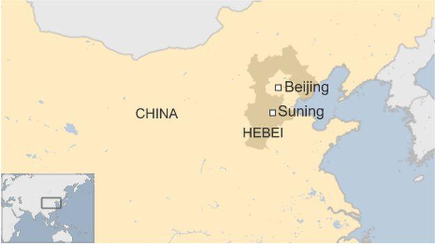 Map of Suning
