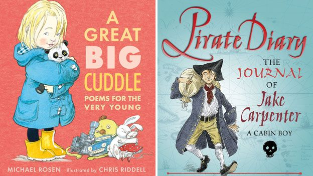 Chris Riddell book covers