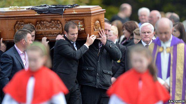 Ronan Hughes funeral