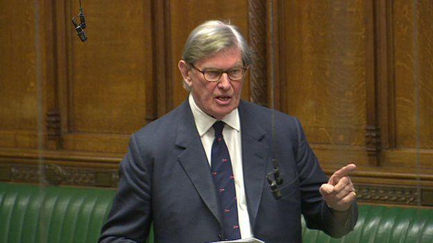 Tory MP Sir Bill Cash