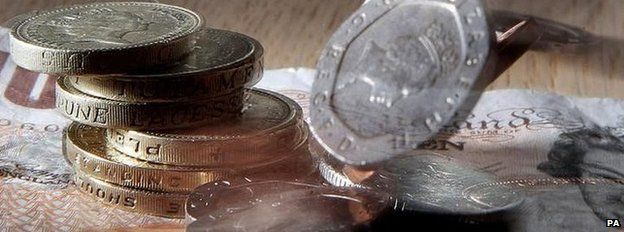 Money as consumer confidence fell during April