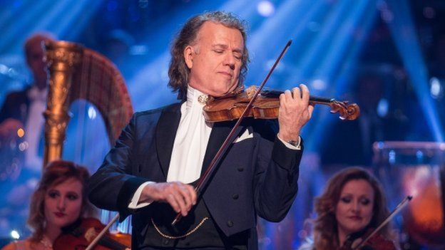 Andre Rieu on Strictly Come Dancing