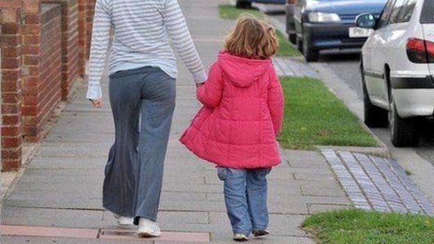 Foster children in Wales