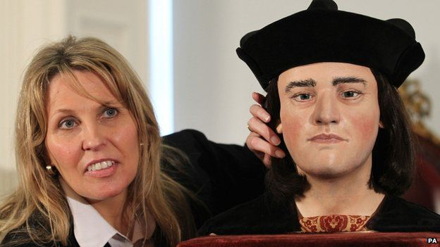 "Philippa Langley, originator of the ""Looking for Richard III"" project"