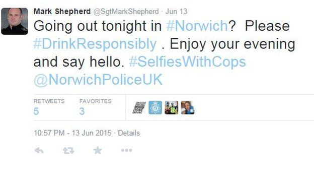 Tweet from @SgtMarkSheherd
