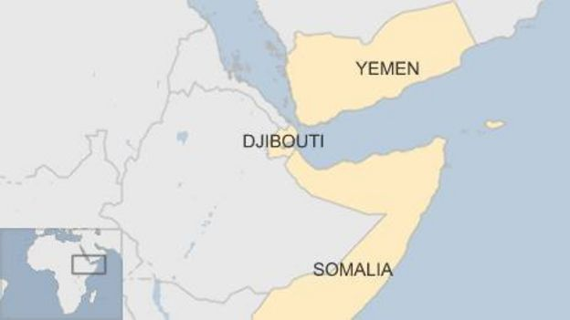 Djibouti On Africa Map.Why Are There So Many Military Bases In Djibouti Bbc News