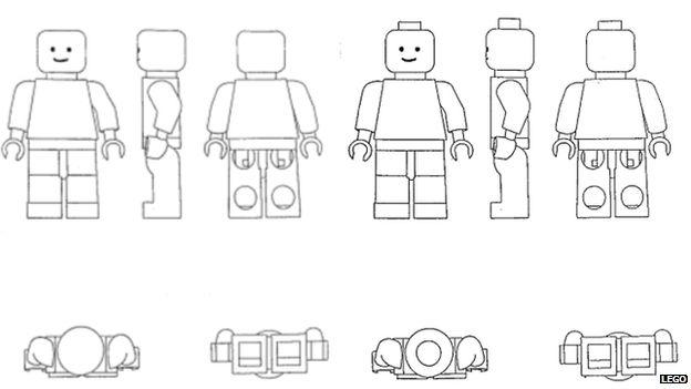 Diagram of Lego figures