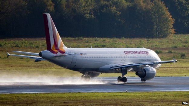 A Germanwings Airbus A320 (file image)