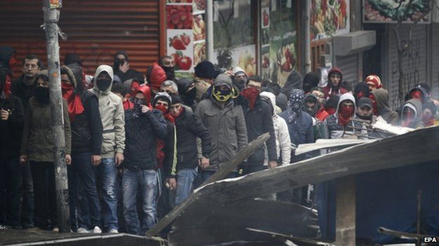 Clashes in Istanbul (11 March)