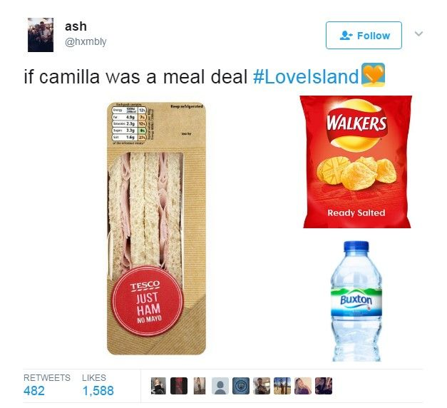 Twitter: If Camilla was a meal deal