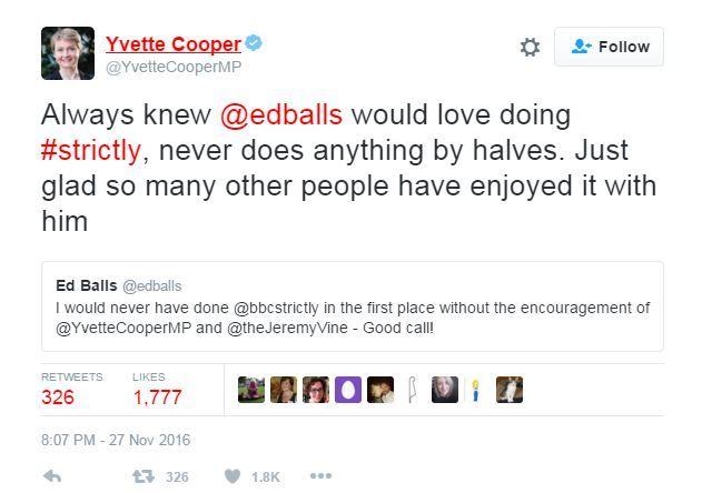Yvette Cooper tweet
