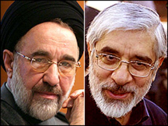 میر حسین موسوی و محمد خاتمی