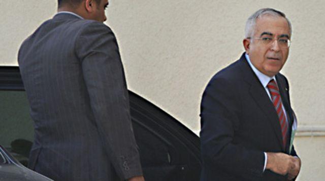 رئيس الوزراء الفلسطيني سلام فياض