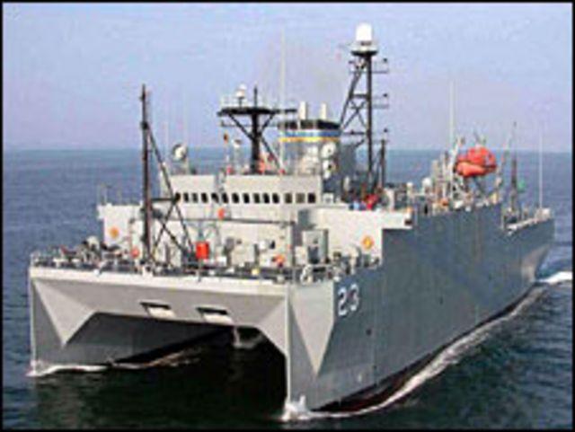 Tàu Impeccable trở thành tâm điểm của va chạm Trung - Mỹ trên Biển Đông năm 2009